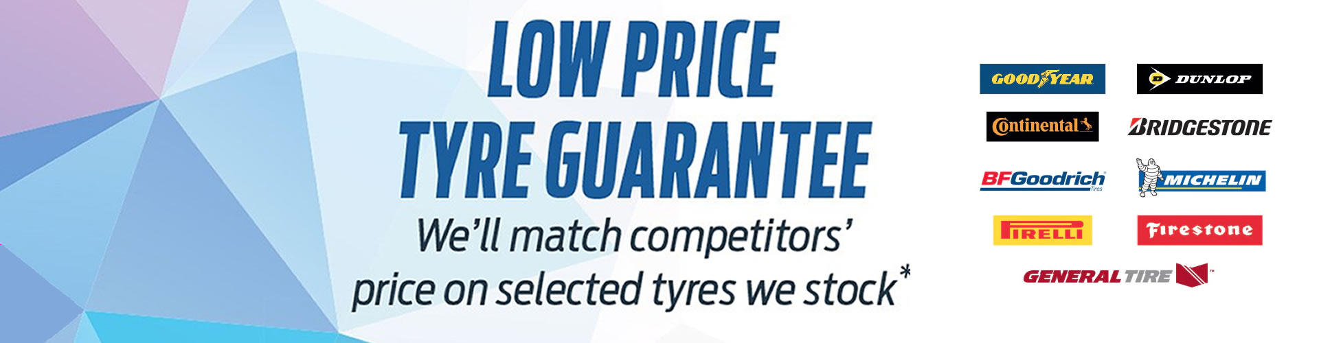 We Know Performance - Low Tyre Price Page