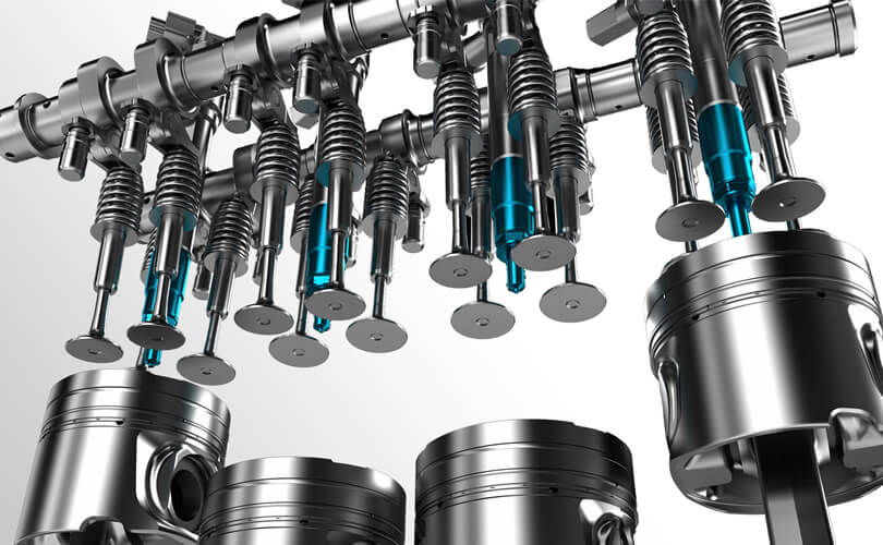 Split Camshafts