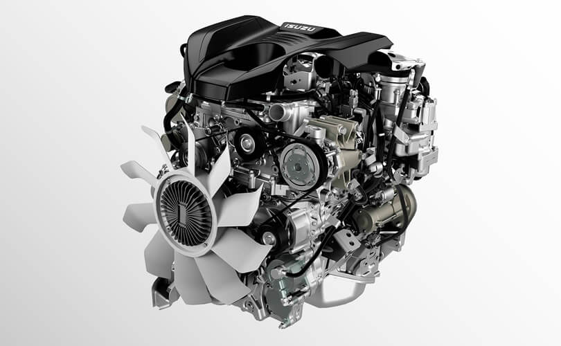 Heavy-Duty Isuzu Engine