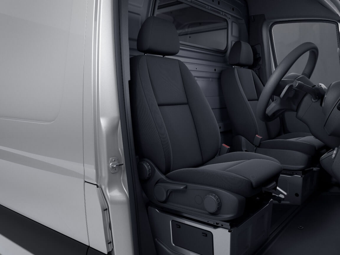 Superior comfort for all-day drivers.