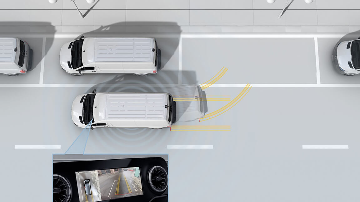Parking Package with 360° camera (optional)