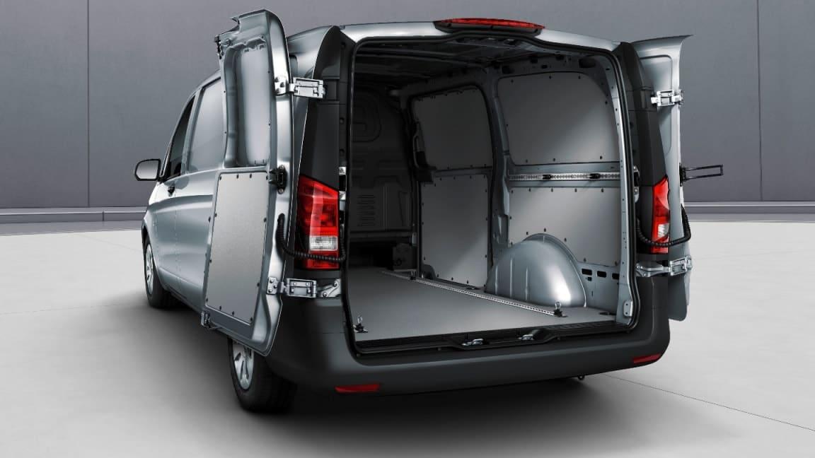 Double-wing rear doors