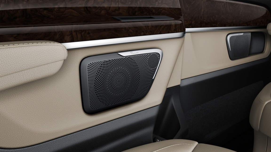 Burmester® surround sound system