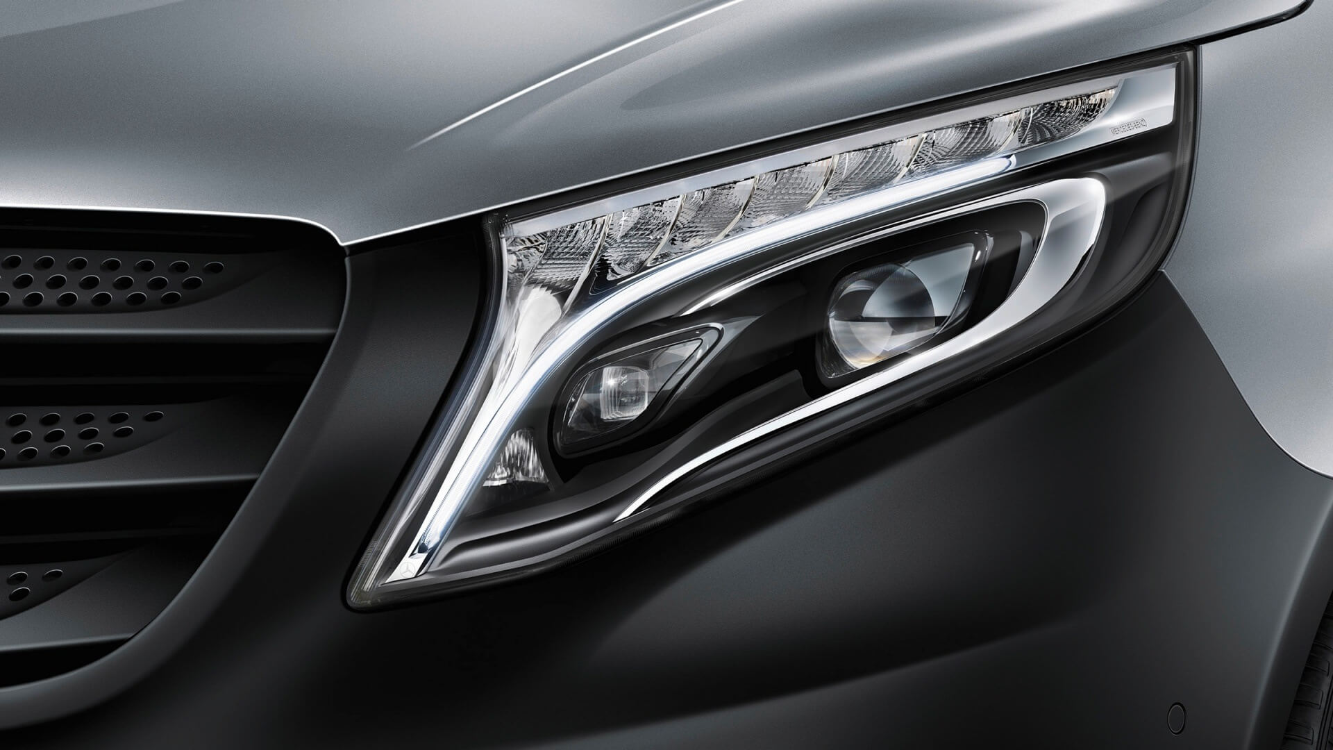 Clever headlights that adapt to the road ahead.