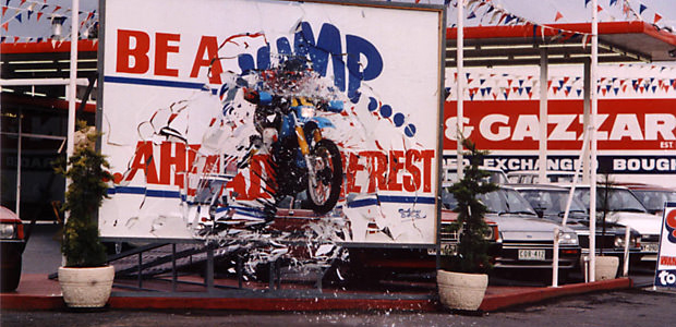 Carlin Gazzard Jump Through
