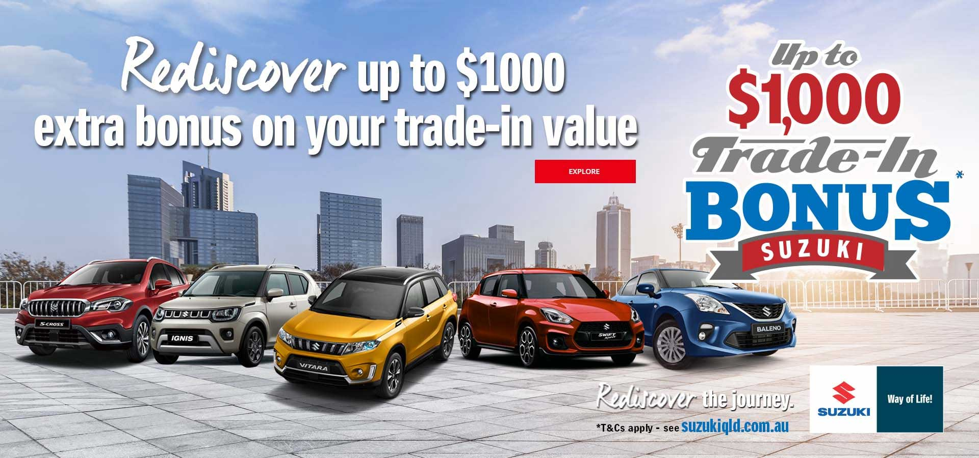 Suzuki QLD September Special