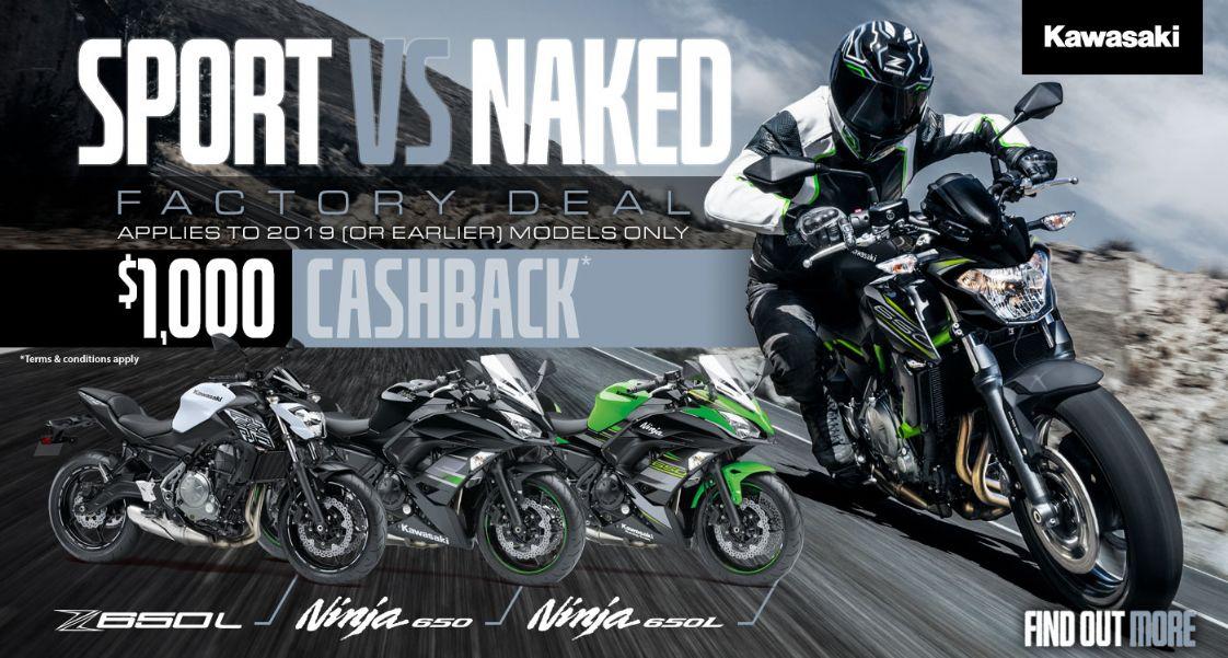 Kawasaki Sport v Naked