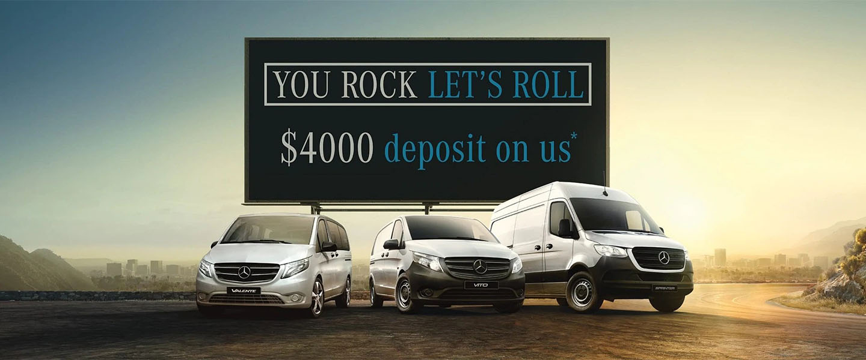 Mercedes-Benz Vans Special Offer