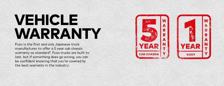 Fuso Warranty Banner