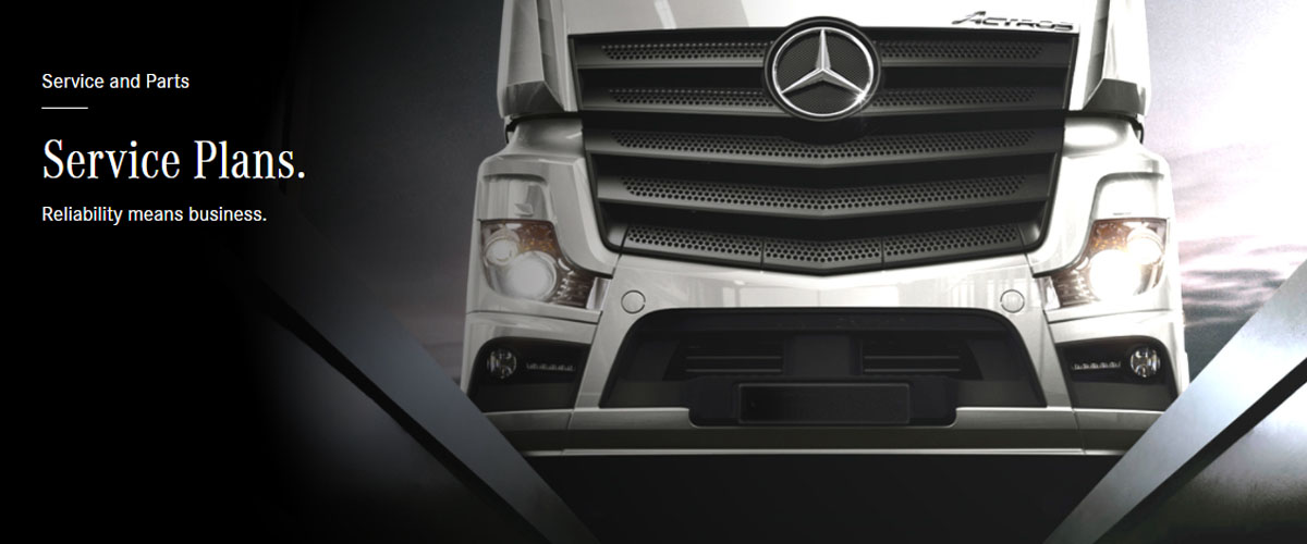 Mercedes-Benz Trucks Service Plans
