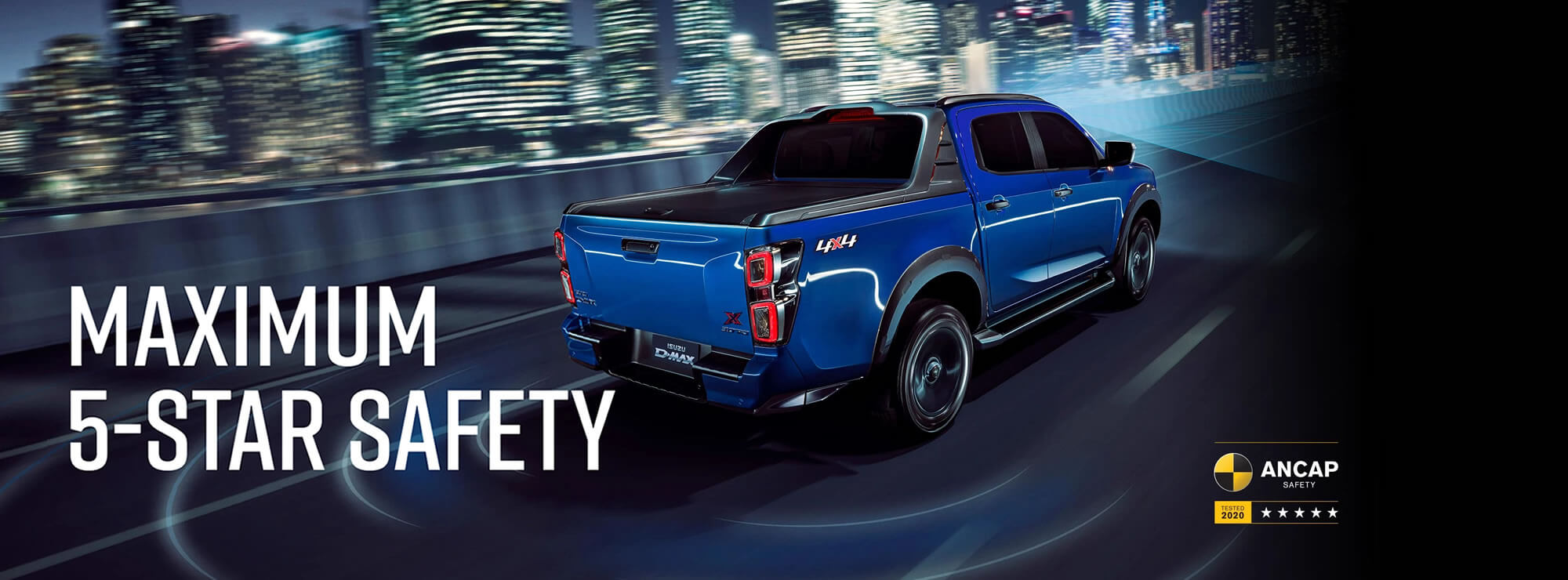 Isuzu UTE D-MAX 5 Star Rating