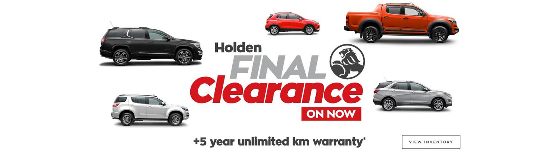 Nowra City Holden Final Clearance