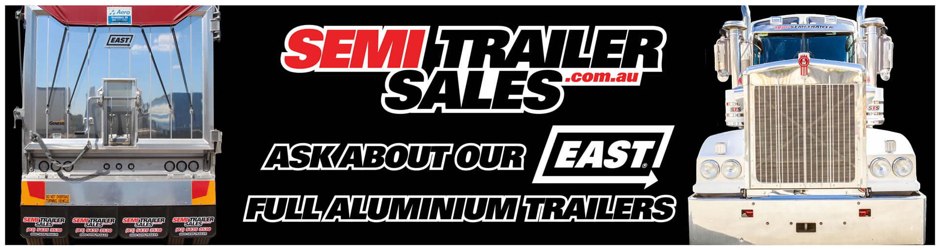 Ask about EAST Full Aluminium Trailers