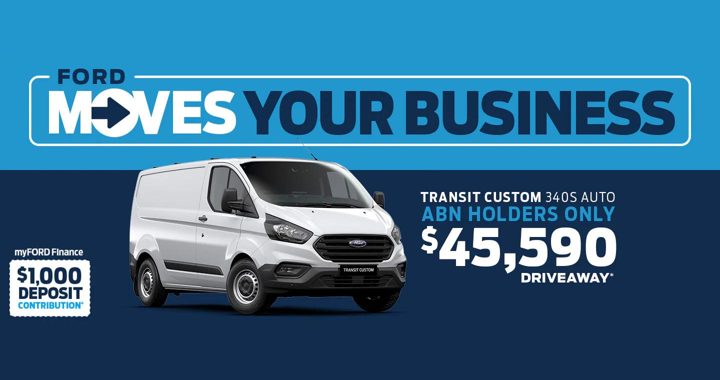 Ford Moves Business - Special Offer Banner