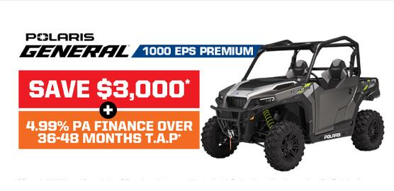 Polaris General 1000 EPS Premium