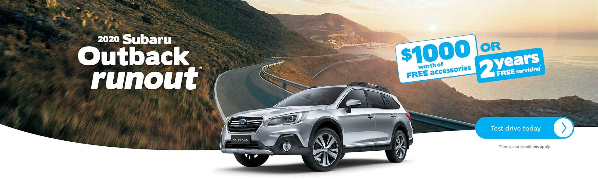 Subaru Outback Offer