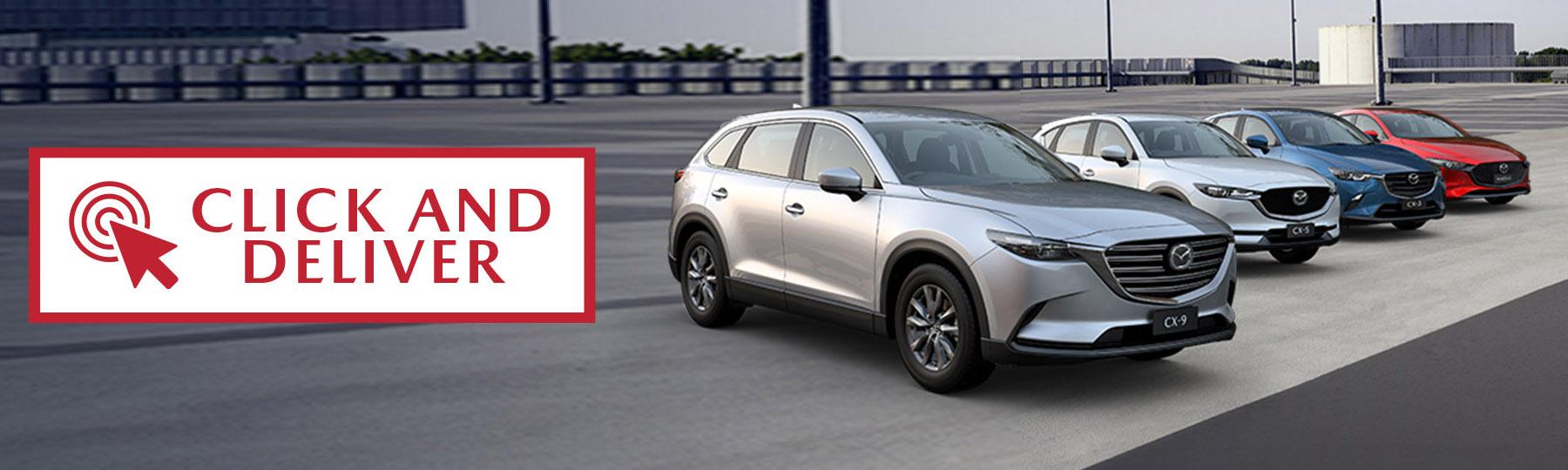 Mazda Click and Deliver