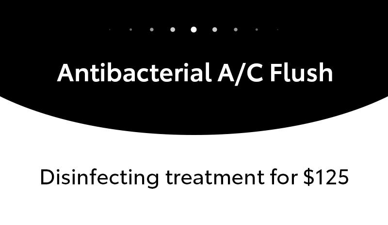 Antibacterial A/C Flush