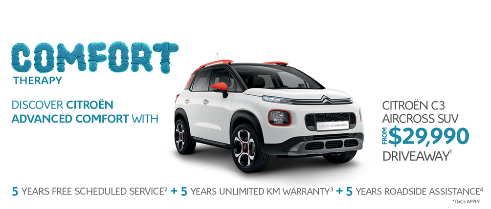 Citroen Comfort Therapy C3 Aircross