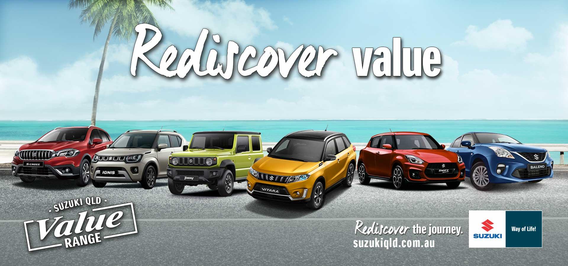 Suzuki QLD - Rediscover Value