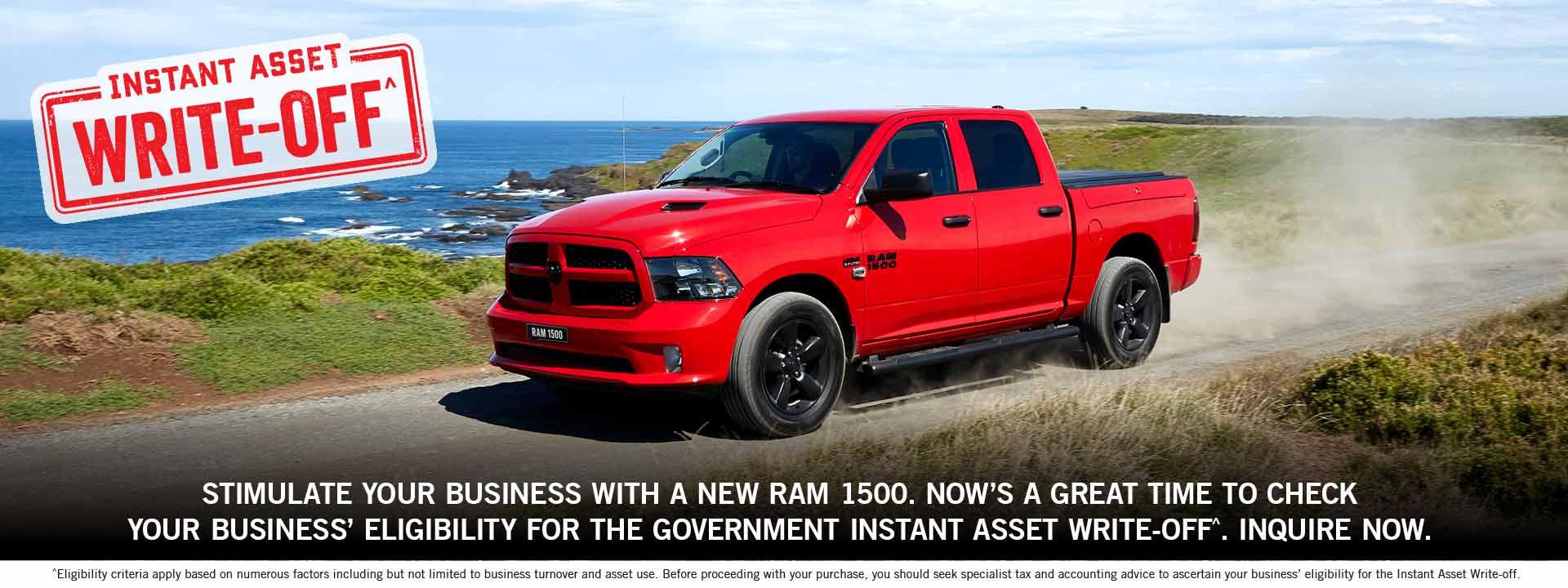 RAM 1500 Express Crew Cab | V8 Hemi | 4x4 Pickup Truck | Instant Asset Write Off | Ram Trucks Australia