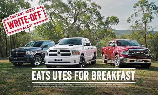 RAM 1500 Pickup Truck Range | Instant Asset Write Off | Ram Trucks Australia