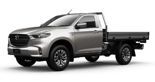 Mazda BT-50 Single Cab 4x4 XT Manual with Tray