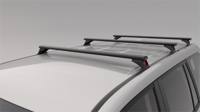 Roof Rack - 3 Bar Set - Heavy Duty - Non Roof Rail Type