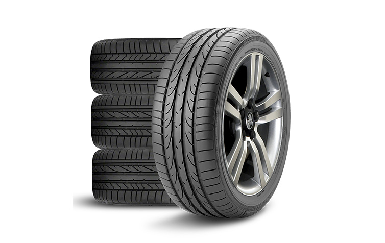 Set of Replacement Bridgestone Tyres