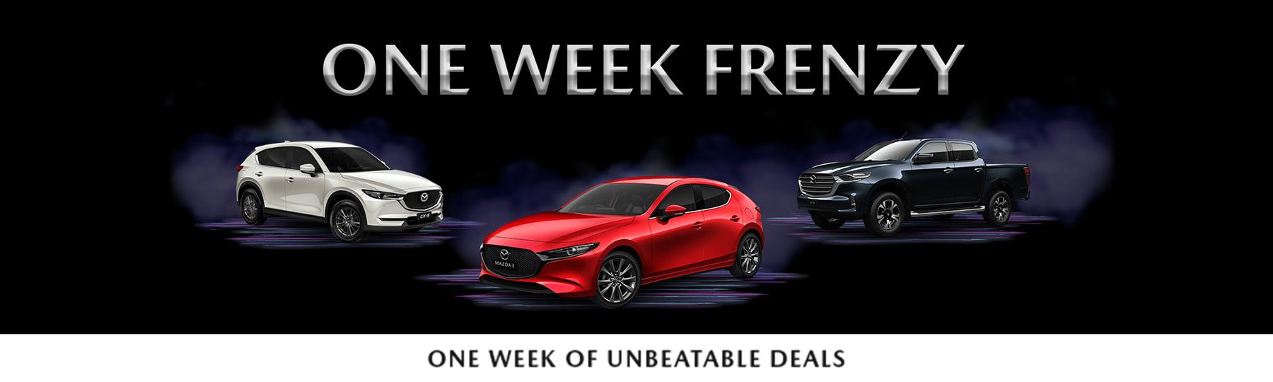 Mazda's One Week Frenzy