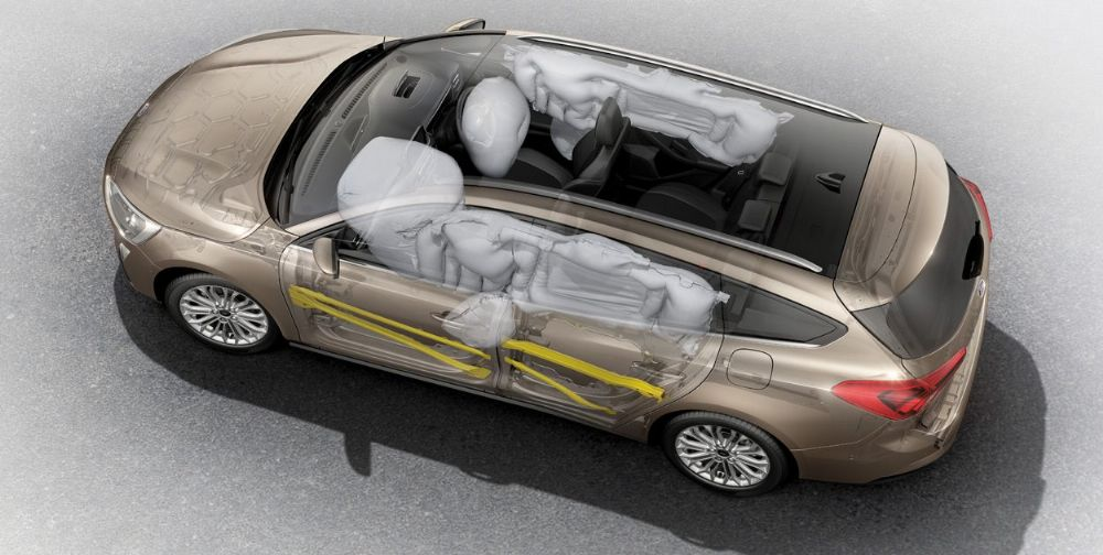 Airbags to shield you from all angles