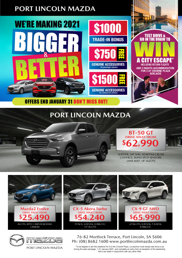 Port Lincoln Mazda Bigger & Better
