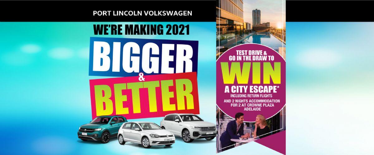 Port Lincoln Volkswagen Bigger & Better