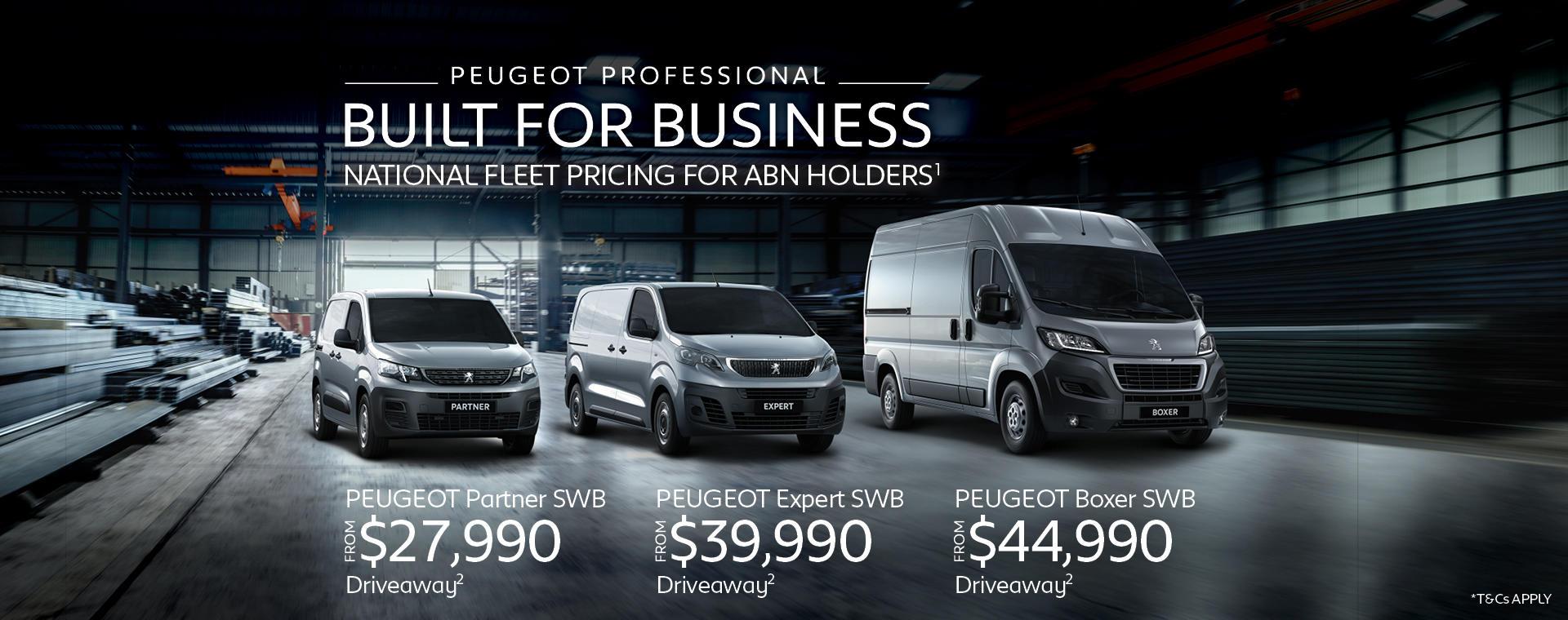 PEUGEOT | LCV Fast Start Promotion Jan 2021