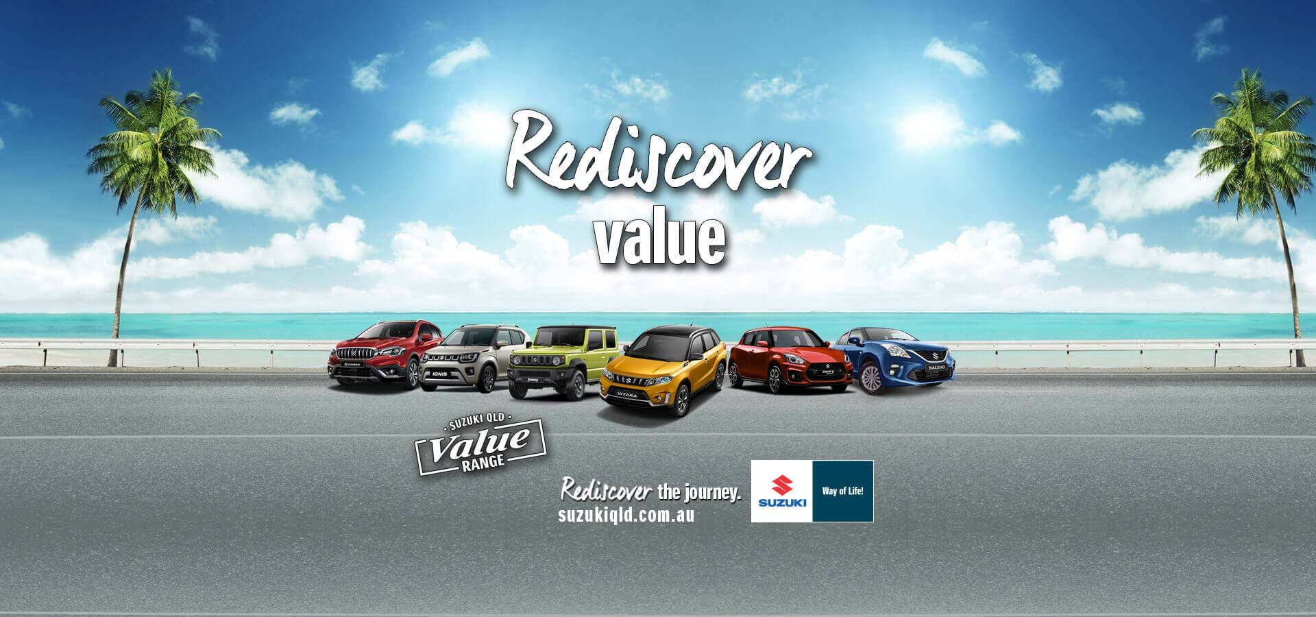 Suzuki QLD Rediscover Value