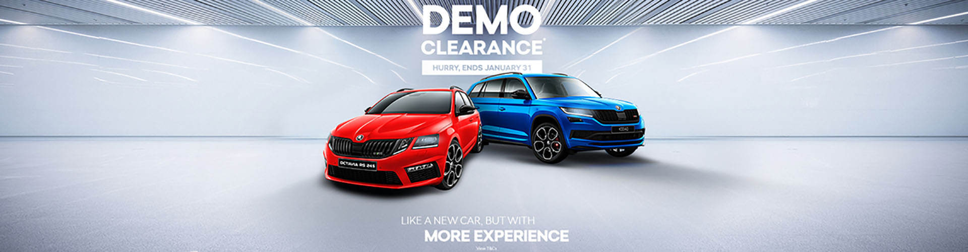 ŠKODA Demo Clearance