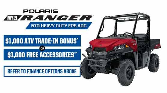 Polaris Ranger 570 Heavy Duty