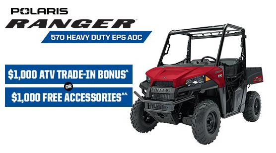Polaris Ranger 570 Heavy Duty