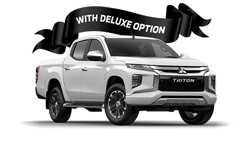 Triton GLS Double Cab / Pick Up / 4WD / Diesel / Automatic - With Deluxe Option image
