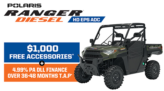 Polaris Ranger Diesel HD EPS ADC