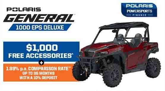 Polaris General 1000 EPS Deluxe