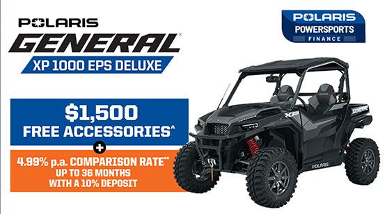 Polaris General XP 1000 EPS Deluxe