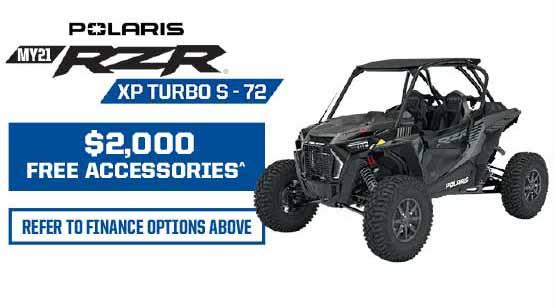 RZR XP Turbo 72-S