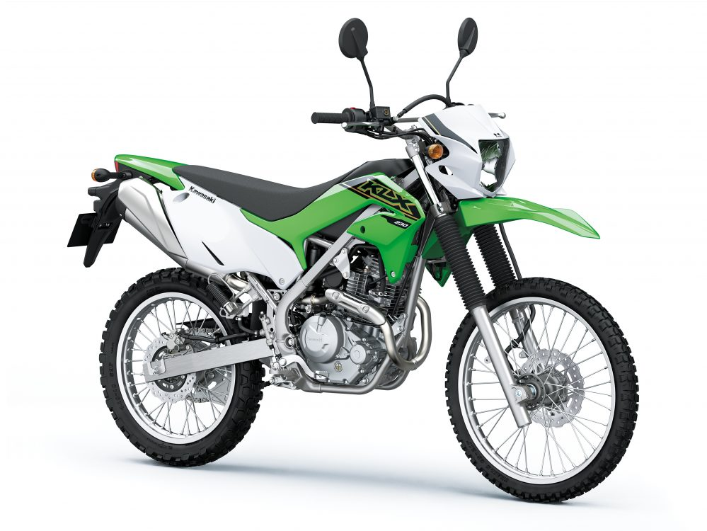 2021 KLX230 - CAPABLE OFF-ROAD PERFORMANCE