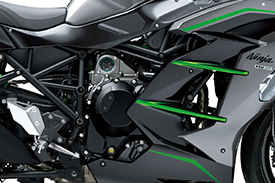 2021 NINJA H2 SX SE - POWER FOR THE DISTANCE