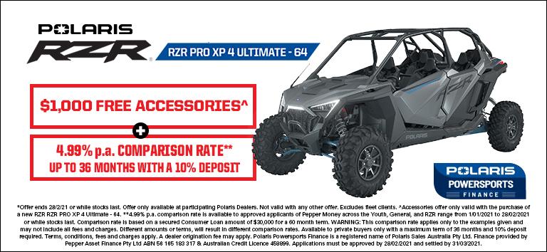 Polaris RZR Pro XP 4 Ultimate
