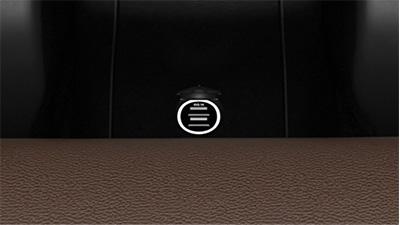 Dual USB ports - rear