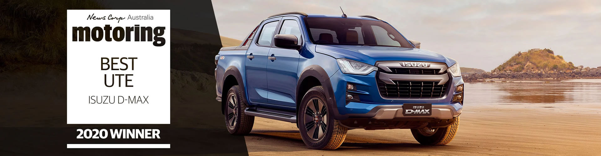Isuzu D-MAX is News' Ute of the Year