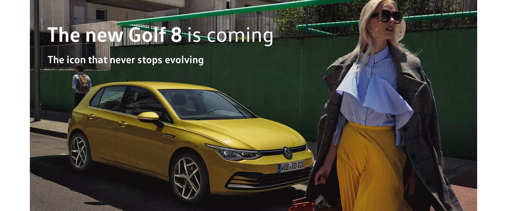 Volkswagen - Golf 8