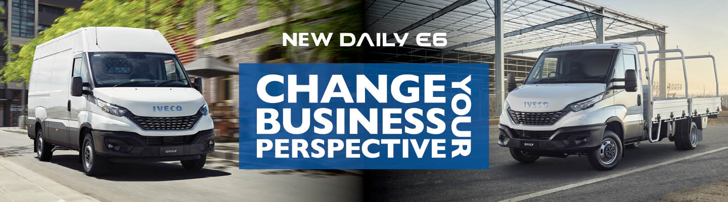 Iveco New Daily-Change Your Business Perspective